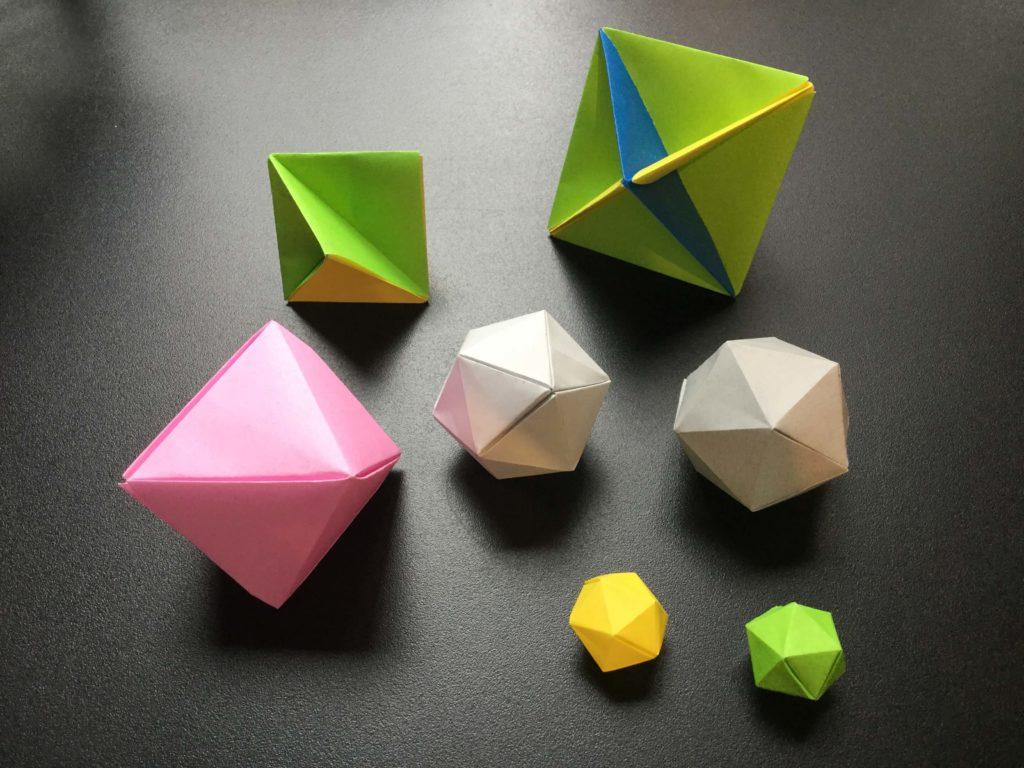 多面体 折り紙